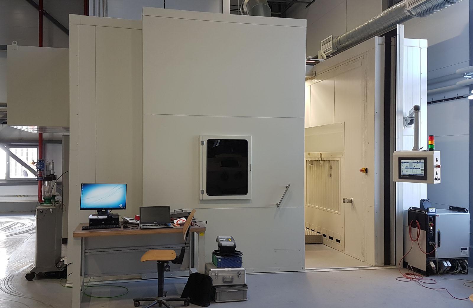 Система газотермического напыления для восстановления лопаток газовых турбин Сименс.